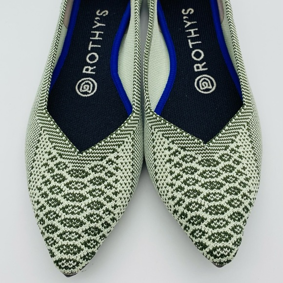 Rothy's Shoes | Rothys Pistachio Python
